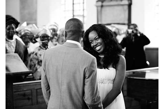 Lekan and Grace exchange ring
