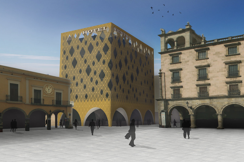8A Architecten - Hotel Centro, Guadalajara (Mexico) 01