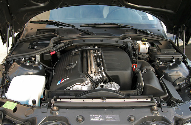 S54 M Coupe Engine Bay