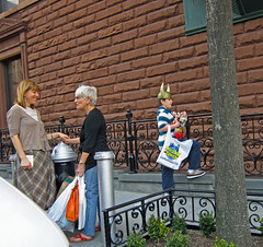 Little Viking (UrbanphotoZ) Tags: nyc newyorkcity ny newyork hydrant toys manhattan mothers upperwestside viking midtowncomics