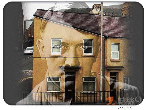 Swansea house & Hitler 2