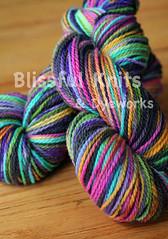 'Electric Rainbow w/black' on Mountain Meadow - 8oz
