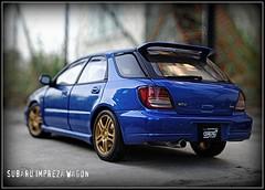 Subaru Impreza Wagon (tamahaji) Tags: 2003 wagon subaru impreza 118 diecast autoart