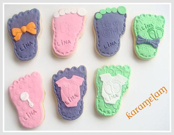 bbay foot cookies