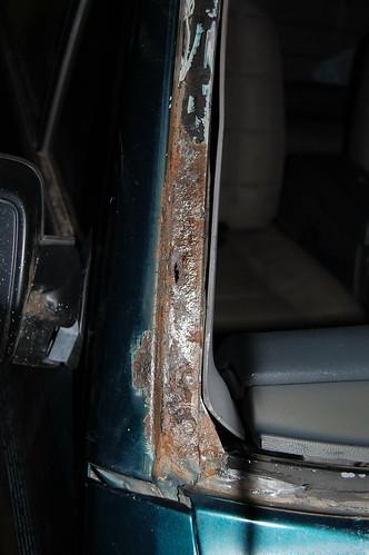 Windshield Frame Rust Repair - NAXJA Forums -::- North American XJ ...