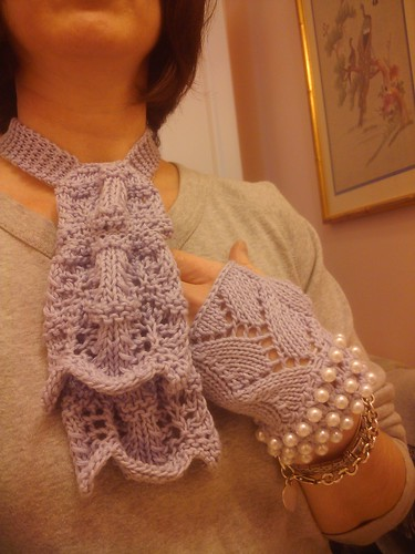 Glove and scarf