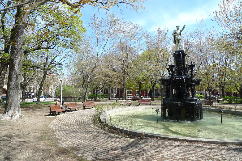 Copyright Photo: St. Henri Park Fountain by Montreal Photo Daily, on Flickr