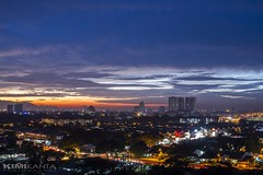 My Hometown  #PerdaCity #Penang #Malaysia (KIMI KANTA) Tags: malaysia penang perdacity slowshutter longexposure smallaperture sunset panorama nightshot nightscape nightview nightscene nightphotography nightpanorama canon canonlens canondslr cityscape lighttrail lightning