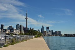 Toronto cityscape (LG_92) Tags: toronto canada summer september 2016 nikon dslr d3100 cityscape modern blue outdoor waterfront sky shore water skyline
