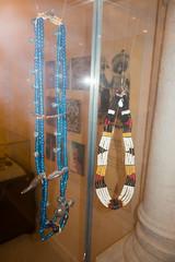 Aboriginal Sarawak bead necklaces (quinet) Tags: 2015 aborigne borneo collier halskette iban kuching kuchingtextilemuseum malaysia perlen sarawak ureinwohner aboriginal beads native necklace perles
