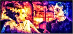 Veux-tu m'pouser? (globaldenny) Tags: jameswhale elsalanchester boriskarloff karloff monster frankenstein thebrideoffrankenstein