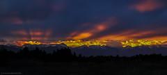 Front Range Fingers (Explored) (steve rubin-writer) Tags: sunrise sun sunset fingers rays bolts explore