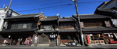 Japanese traditional style shops / 和風建築(わふうけんちく) (TANAKA Juuyoh (田中十洋)) Tags: home shop architecture japanese design high ancient exterior traditional style hires chiba resolution 5d hi residence res 建築 markii katori 千葉 街並み 佐原 古い 商店 デザイン 意匠 まちなみ 外観 香取 外装 ちば けんちく さわら canonef14mmf28liiusm かとり 高画質 高精細 ふるい 昔の 和風建築 わふうけんちく しょうてん むかしの