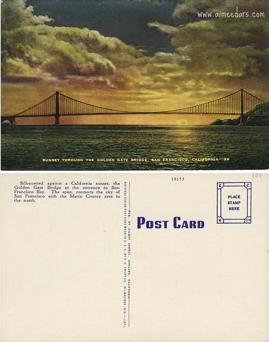 Golden Gate Bridge (Linen)