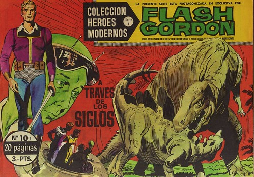 008--Flash Gordon nº10-coleccion Heroes Modernos-Editoria Dolar-portada