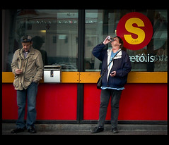 Hard Times (v.ince) Tags: street people hardtimes tempidifficili lumixislanda