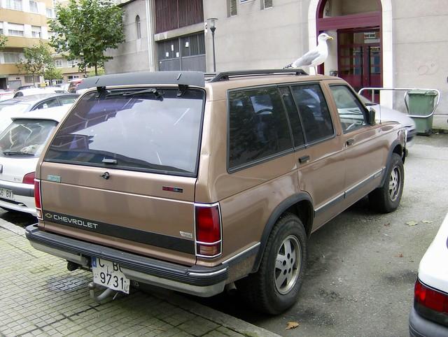 chevrolet chevy 1992 blazer