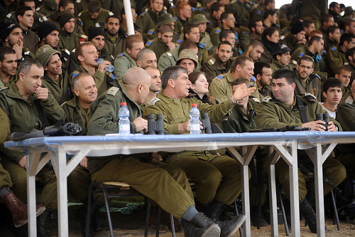 Lt. Gen Ashkenazi Visits Joint Combat Demonstration