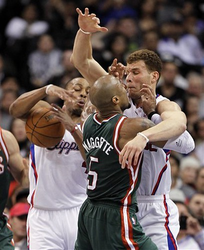 Bucks Clippers Basketball