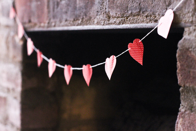 Mini Heart Garland