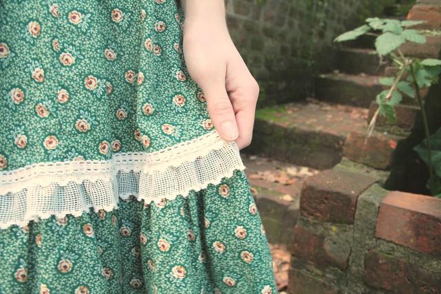 a vintage skirt