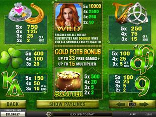 free Irish Luck slot mini symbol