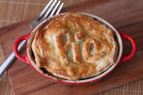 Chicken & Chorizo Pie