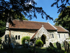 Bonchurch, Isle of Wight, England (east med wanderer) Tags: england church walking village walk ventnor isleofwight footpath shanklin bonchurch oldstbonifacechurch
