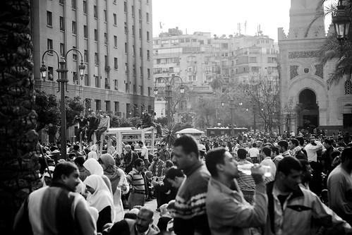 Tahrir Square عمر مكرم