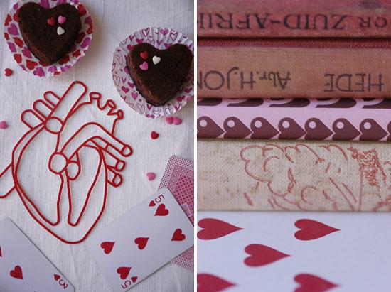 Valentine's choc cupcakes