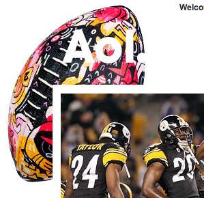 AOL Super Bowl Logo