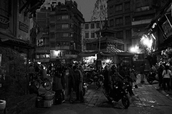 A night in Kathmandu.