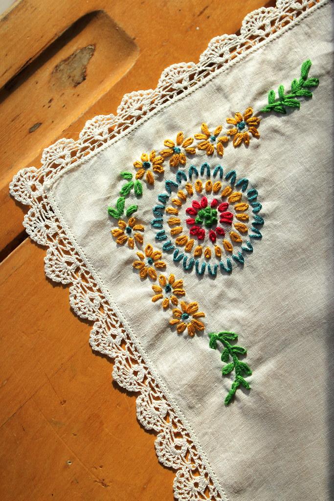 stitch along