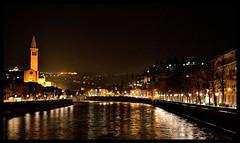 Night View from Ponte Delle Navi (avati91) Tags: city italy ponte arena verona 1855 nikkor puppi navi riccardo adige veneto