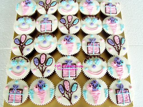 Birthday Theme Cupcakes
