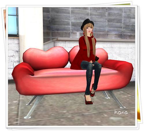 [mdrm]heart sofa[S.G.B]