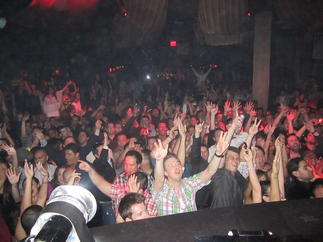 Crowd at Marquee