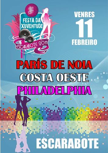 Boiro 2011- Escarabote Festa da Xuventude - cartel