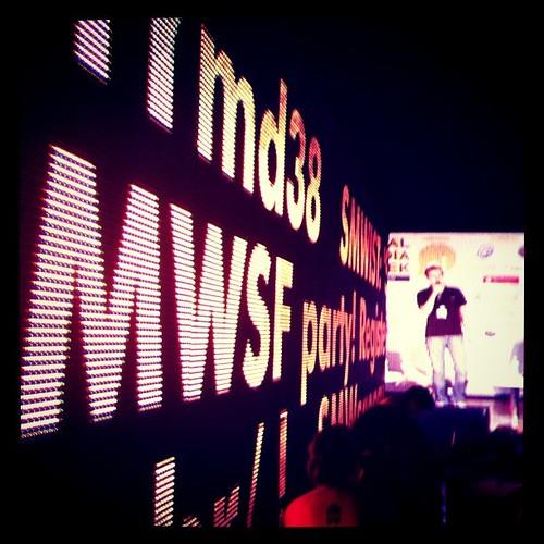 #smwsp visão do lounge da Oi