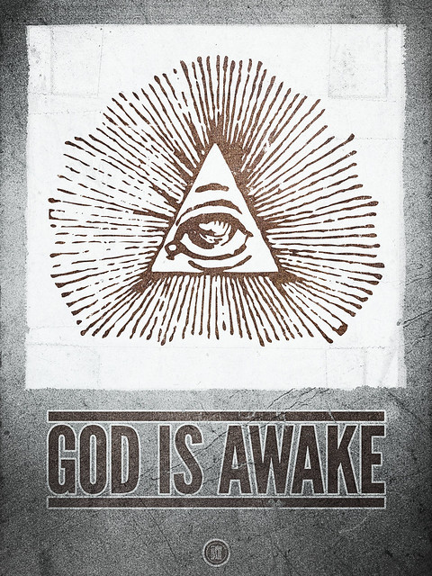 SAoS - God is Awake print