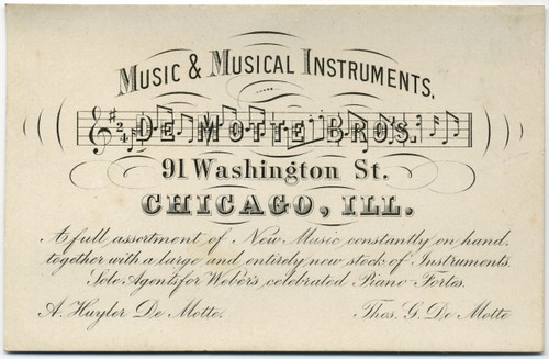 De Motte Bros. Music & Musical Instruments