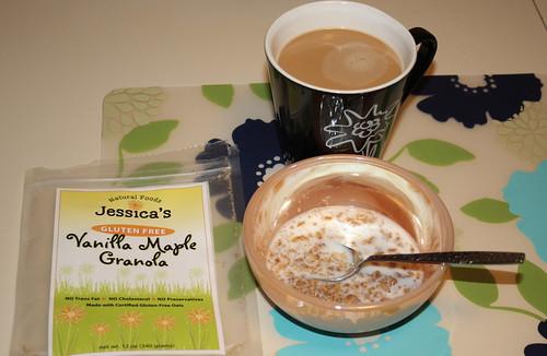 Jessica's vanilla maple gluten free granola