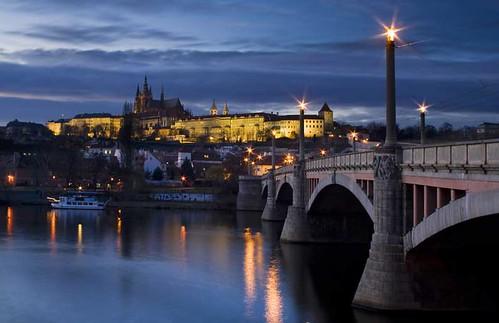 Prague Манесов мост