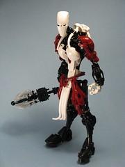 Malrik (retinence) Tags: man lego muscle contest bbc mace fusion bionicle 61 malrik