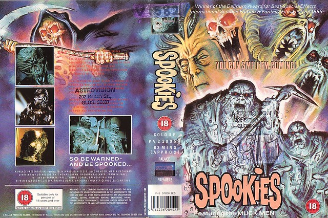Spookies (VHS Box Art)