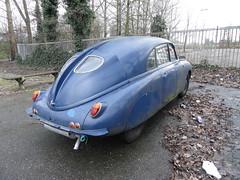 Tatra T600 Tatraplan (Skitmeister) Tags: holland classic netherlands car vintage nederland delft oldtimer carspot pd8719 skitmeister