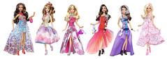 barbie gown assortment (IdleHandsBlog) Tags: girls toys dolls barbie mattel