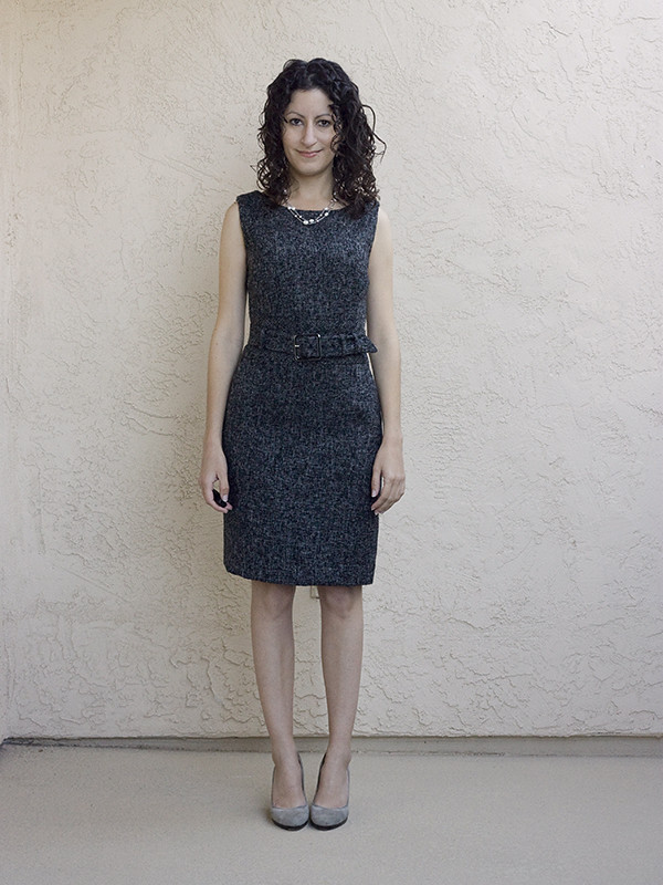 Banana Republic Tweed Dress 1 600px