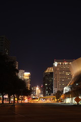New Orleans night 3 (gallag2073) Tags: city longexposure night 50mm lights louisiana downtown neworleans superdome canon5dmii
