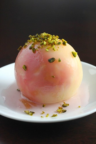 Poached Peach 2